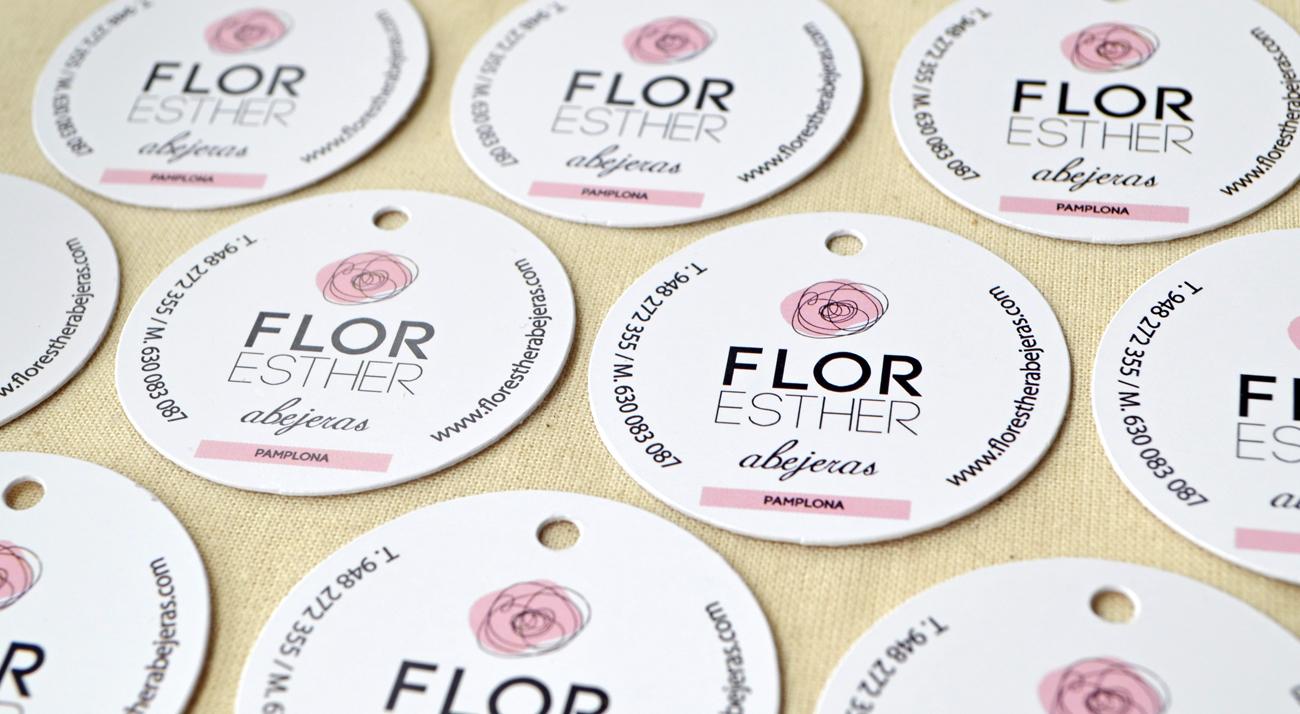 Etiquetas-Flor-Esther-Abejeras-Junna-Branding