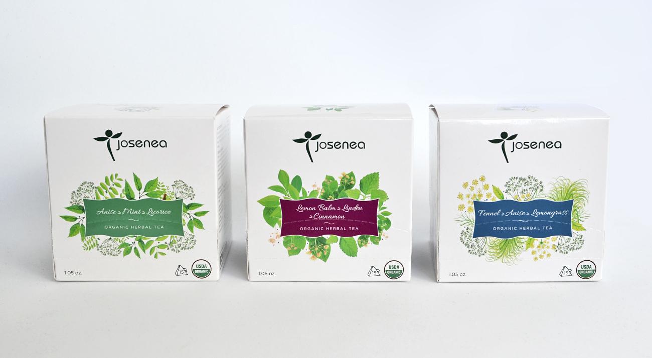 Josenea-packaging-infusiones-Junna-Branding